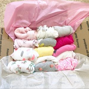 5 lbs Baby girl 32 piece lot bundle 3-12 months